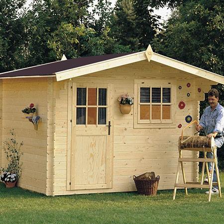 Casette da giardino losa legnami - Porta attrezzi da giardino in legno ...