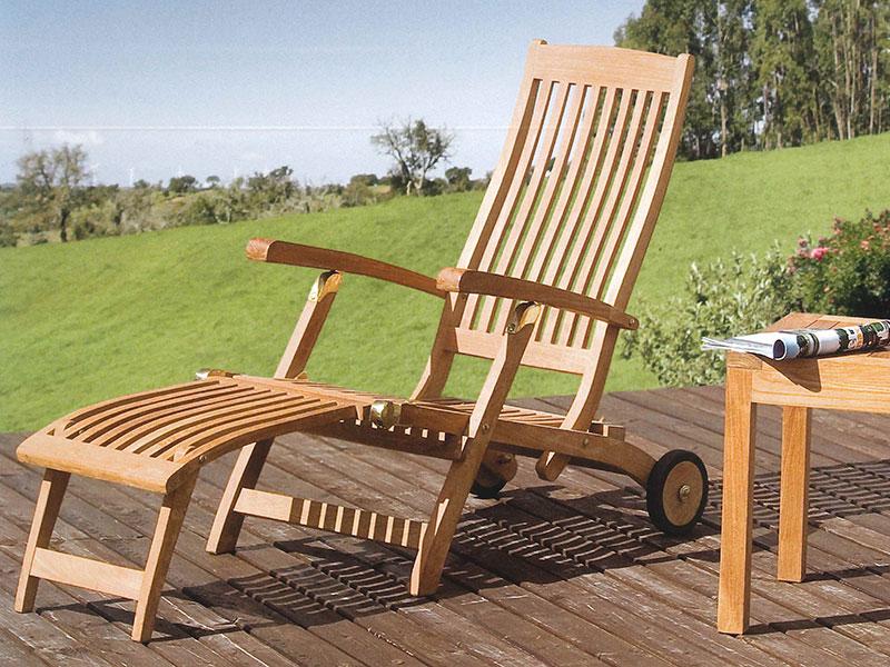 mobili da giardino teak naturale losa legnami