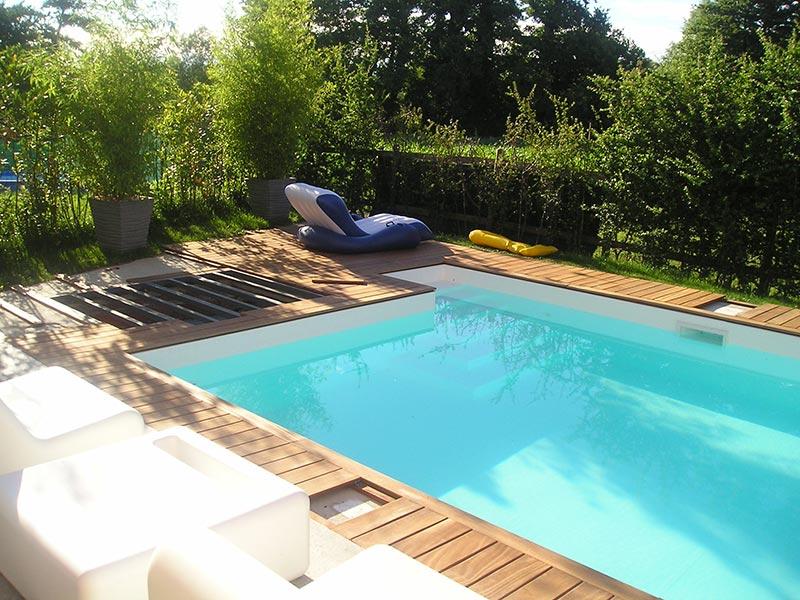 Listoni per esterno losa legnami for Bordo piscina legno