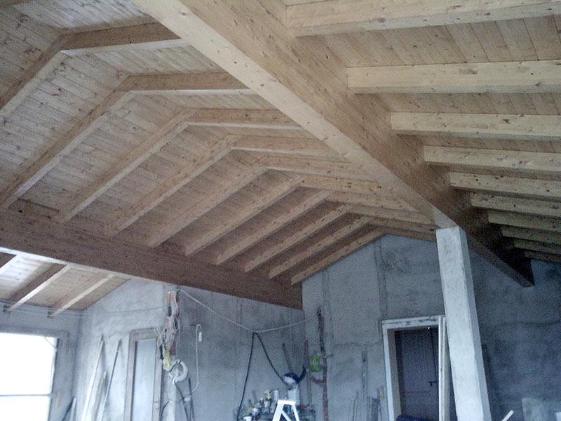Copertura In Legno Bianco : Tetti in legno lamellare losa legnami